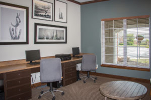 Business Center at Canyon Club at Perry Crossing apartments in Plainfield IN