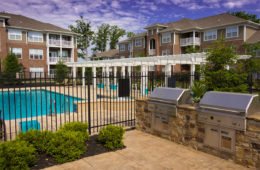 swimming pool at Canyon Club at Perry Crossing apartments in Plainfield IN