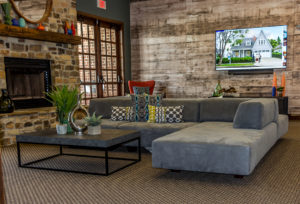 Community Club House at Canyon Club at Perry Crossing apartments in Plainfield IN