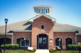 Leasing Center at Canyon Club at Perry Crossing apartments in Plainfield IN